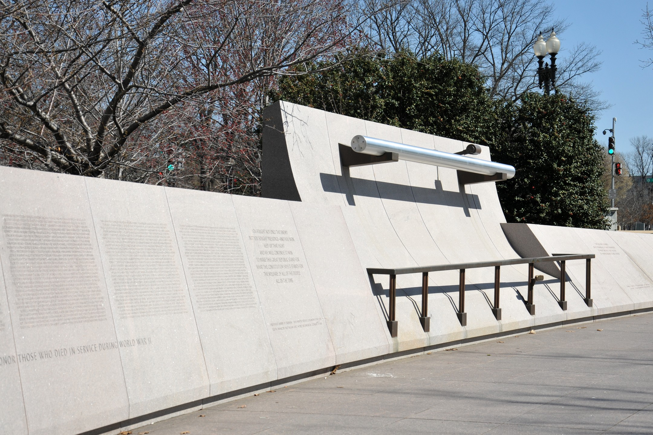Japanese American Memorial to Patriotism During World War II