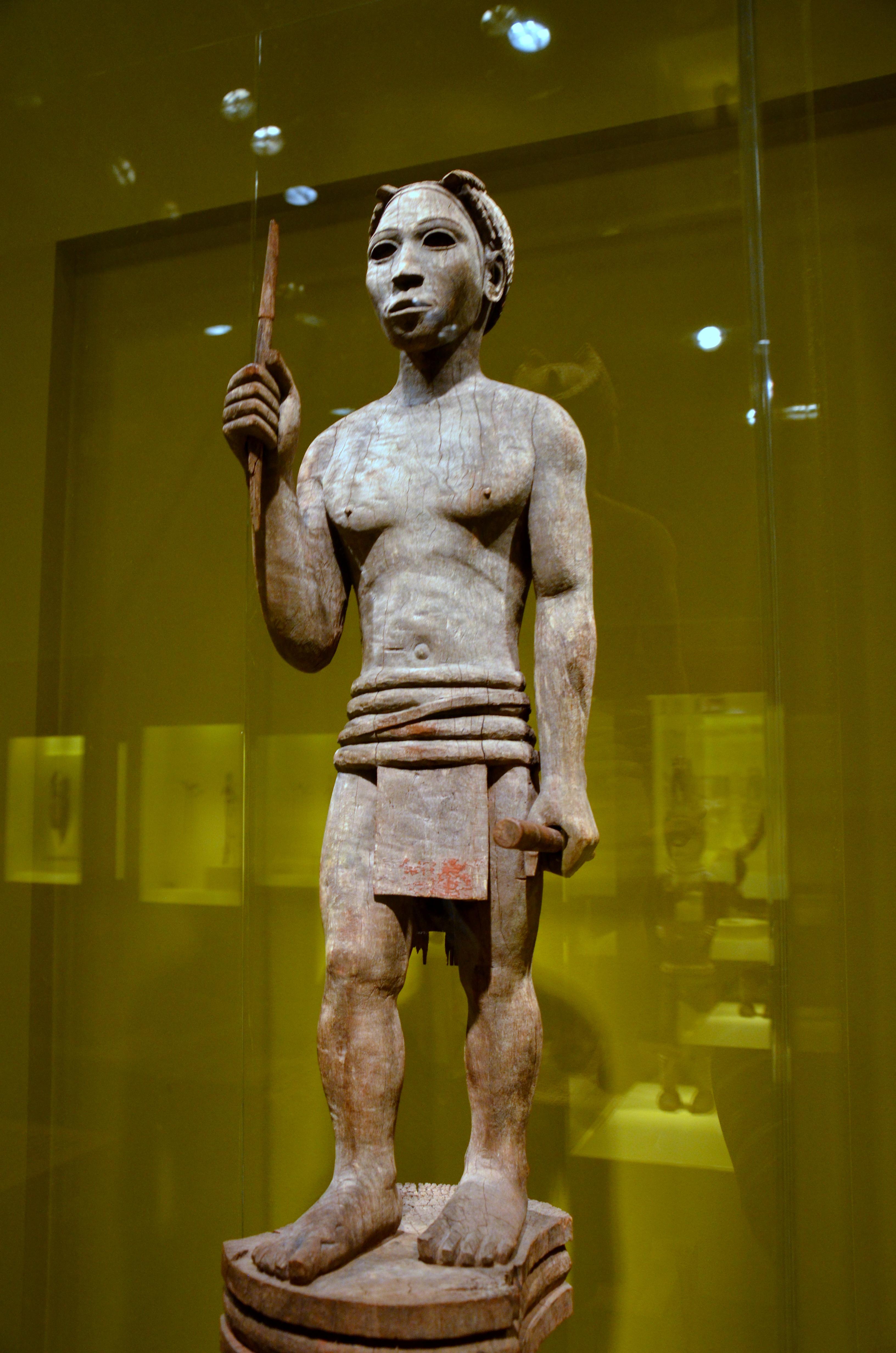 Funery Sculpture Of The Sakalava Or Bara Peoples Of Madagascar